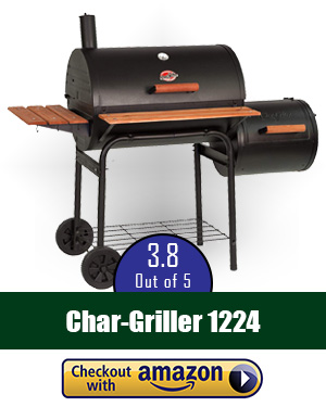 best offset smoker: Char-Griller 1224 Smokin Offset Smoker - a versatile choice