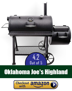 best offset smoker: Oklahoma Joe's Highland Reverse Flow