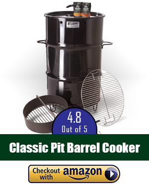 best offset smoker: Pit Barrel Cooker - try this classic smoker!