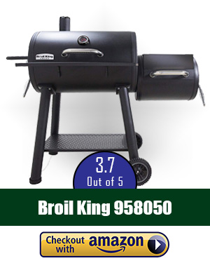 best offset smoker: Broil-King Offset Charcoal Smoker
