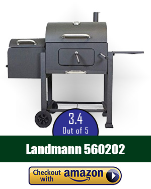 best offset smoker: Landmann 560202 Vista Barbecue Grill with Offset Smoker Box