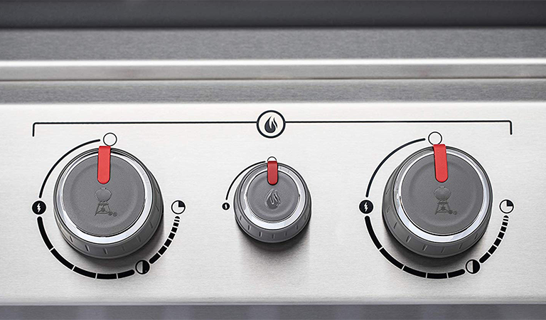 Weber Genesis 6531001 E-330 : temperature knobs