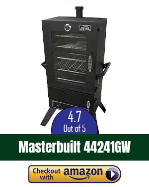 Weston 48-Inch Outdoor Propane Vertical Smoker
