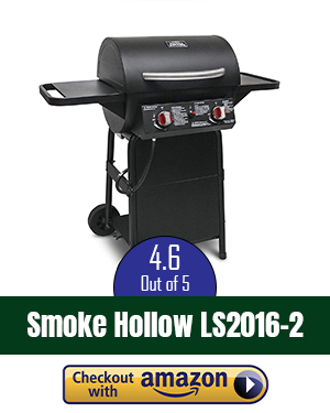 Smoke Hollow 38202G 38-Inch 2-Door Propane Gas Smoker