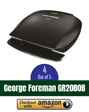 best george foreman grill review: a quick, easy solution for 5 servings