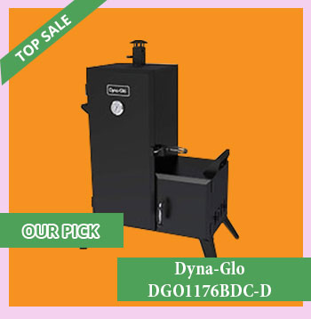 Dyna Glo DGO1176BDC D Charcoal Offset Smoker